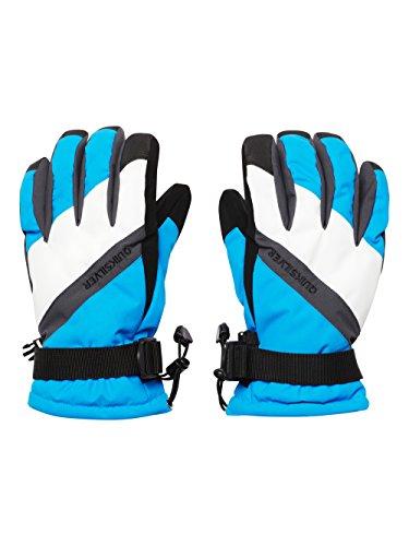 Quiksilver, Guanti Uomo Meteor, Blu (Brilliant Blue), S