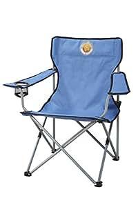 Grand Canyon Director - 308100 - chaise de camping pliante acier bleue/noire
