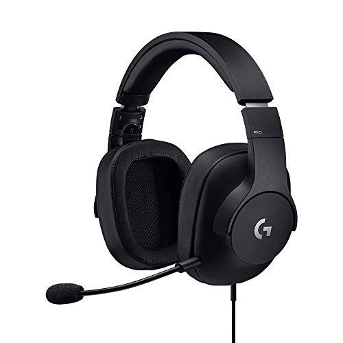 Logitech G Pro Gaming Kopfhörer, leicht mit Pro-G-Lautsprecher (für PC, PS4, Switch, Xbox One, VR) -