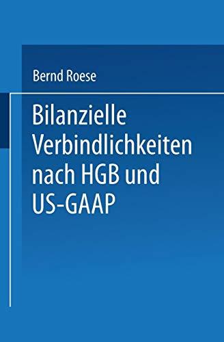 Bilanzielle Verbindlichkeiten nach HGB und US-GAAP