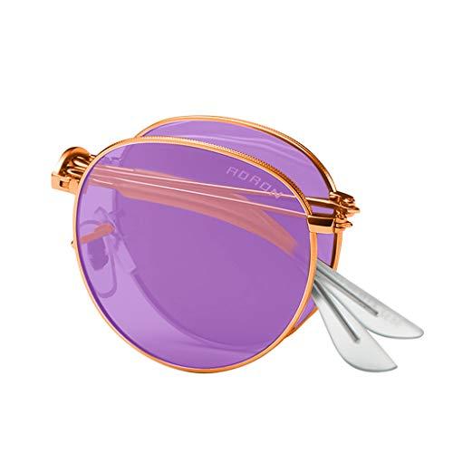 Storerine Bar Unisex Sonnenbrille Unisex sommer polarisierte falten augenbrauenstift Sonnenbrillen mode brille Multicolor