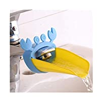 Bathroom Water Chute Spout Sink Faucet Extender for Kids - crab Style