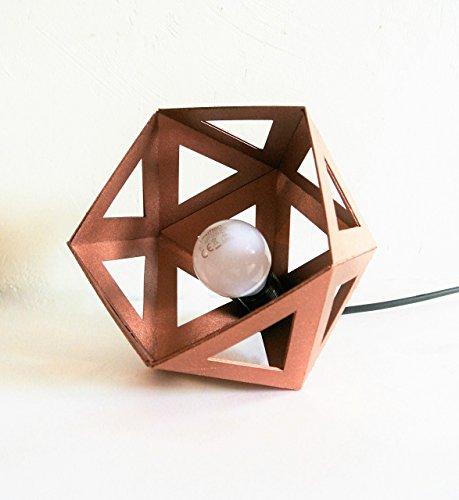 lampe-a-poser-origami-cuivre