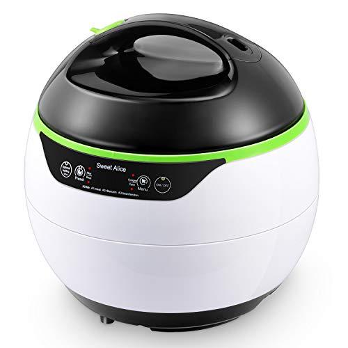RsvpD 15 in 1 kochen essentials 4L großer kapazität elektrischer druckkocher Gesund und einfach zu verwenden mit Wärme Netter Kochstil SweetAlice 950w mit Zubehör