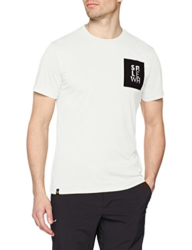 Salewa Herren Nidaba Dri-Rel M S/S Tee Hemden & T-Shirts, White, 50/L