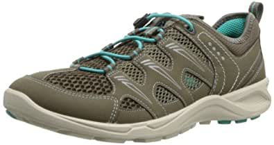 Ecco  ECCO TERRACRUISE, Chaussures Multisport Outdoor femme - marron - Braun (WARMGREY/DARKCLAY/TURQUOISE 58440), 35 EU