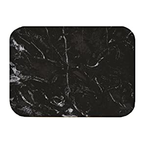 ZAK Osmos Serviertablett schwarz Marmor/weiss 40x30cm