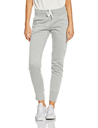 Only onlFINLEY PANTS NOOS, Pantalones Mujer, Gris (Light Grey Melange), 36 (Talla del fabricante: Small)