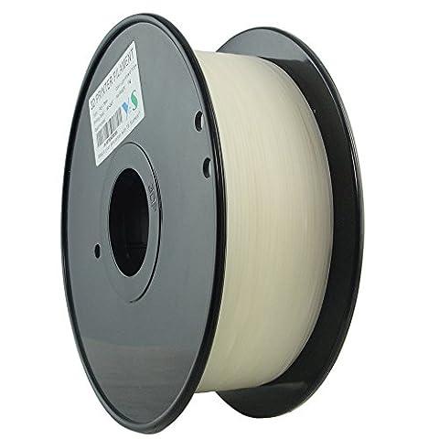 YS Filament ys-1.75-pla-n-1000ys sans nœuds 3D, Pla Filament 1,75mm, 1kg,