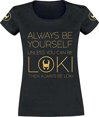 Thor Loki - Always Be Yourself Camiseta Negro XL