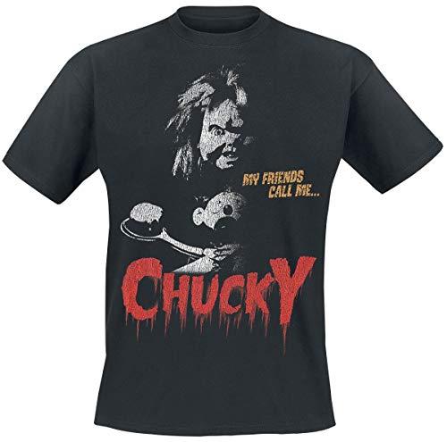 Chucky My Friends Call Me T-Shirt schwarz M