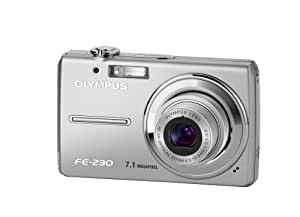 """Olympus Appareil photo numérique FE-230 Boitier métal (extra plat 16,5mm épaisseur) 7MPixels Ecran 2,5"""" zoom 3x"""