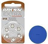 Rayovac 312 Hörgerätebatterien 312AE A312 DA312 P312 + Online-Sale-Shop Einkaufswagenchip