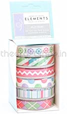 American Crafts Ribbon - Jelly Bean 6 pcs