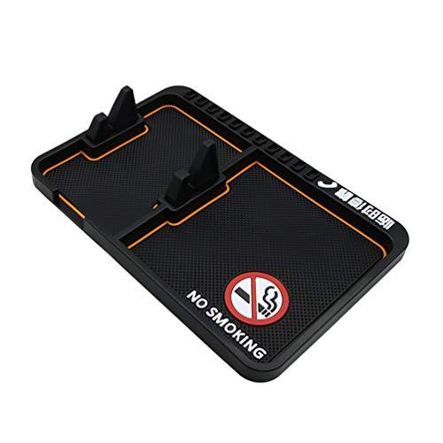 NACOLA Anti-Rutsch-Handy-Pad Universal für Auto Armaturenbrett für Schlüsselbund Sonnenbrille mit Park-Telefonnummer Style 8