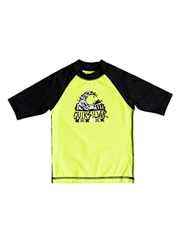 Quiksilver Bubble Dream - Short Sleeve UPF 50 Rash Vest for Boys 2-7 - Jungen 2-7 - Herren Bubble Vest