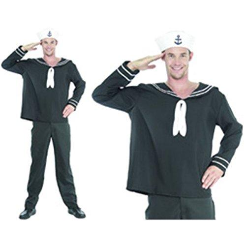 Juguetes Fantasia - Disfraz marinero adulto hombre