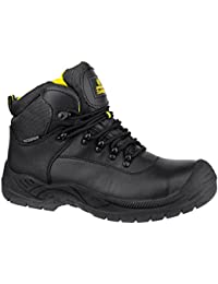 Amblers Safety Mens FS220 W/P Leather Waterproof Safety Boots Black