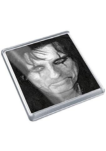 ALICE COOPER - Original Art Coaster