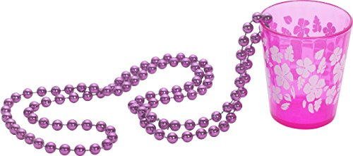 Smiffys Schnapsglas an Perlenkette
