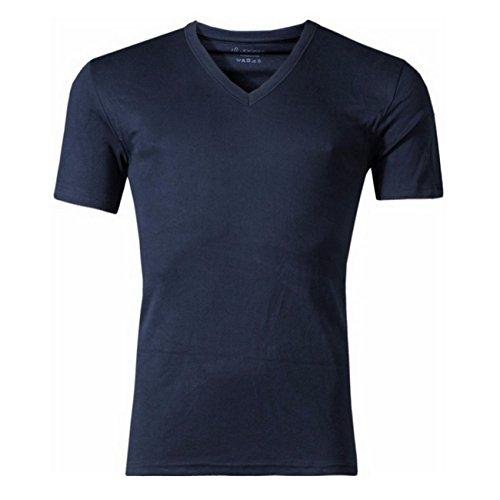 Jockey Herren V-Neck T-Shirt Modern Classic 2er Pack Schwarz