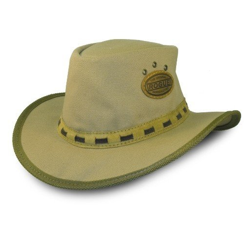 ROGUE CANVAS KALAHARI HAT SAND 306D (56-57CM) (Canvas Hut)
