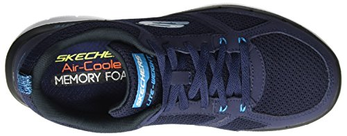 Skechers Flex Advantage 2.0, Chaussures Multisport Outdoor Homme Bleu (Nvbl)