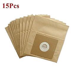 Caldipree 15pcs Vacuum Cleaner Dust Paper Bags 100 * 110mm Diameter 50mm for Vacuum Cleaner