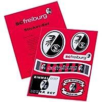 Aufkleber Set A5 SC Freiburg - Aufkleber, Sticker, Autoaufkleber, Gesichtaufkleber etiqueta engomada, autocollant