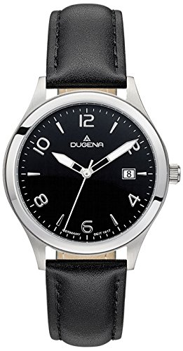 Dugena Men's Analogue Quartz Watch with Leather Strap 4460779