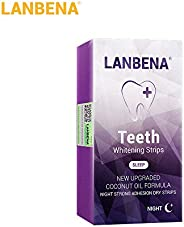 walmeck 1/7Pcs Teeth Whitestrips Night Use Non-Stimulating Anti-Sensitive Advanced Teeth Whitening Strips Usef