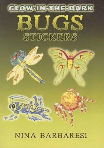 (Glow-In-The-Dark Bugs Stickers (Dover Little Activity Books))