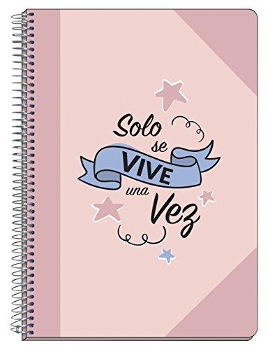 Grupo Erik Editores CARP1616 Amelie - Cuaderno tapa dura A5, 14.8 x 21 cm