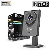 INSTAR IN-6001HD schwarz - WLAN Überwachungskamera - IP Kamera - Innenkamera - Mikrofon - Lautsprecher - Bewegungserkennung - Nachtsicht - Weitwinkel - LAN - RTSP - ONVIF