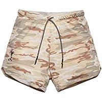 OPAKY Pantalones Cortos Deportivos para Hombre, Pantalones de Hombre con Cordón Pantalones Cortos para Hombre Pantalón de Entrenamiento Deportivo Causal Slim Fit Sport de Color sólido