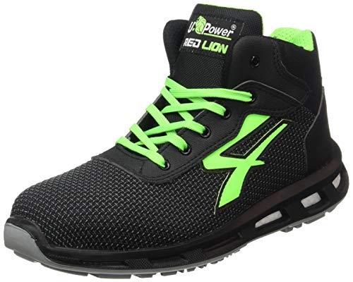 U Power Scarpe Antinfortunistiche, Redlion Hard S3 SRC, Taglia 41 EU