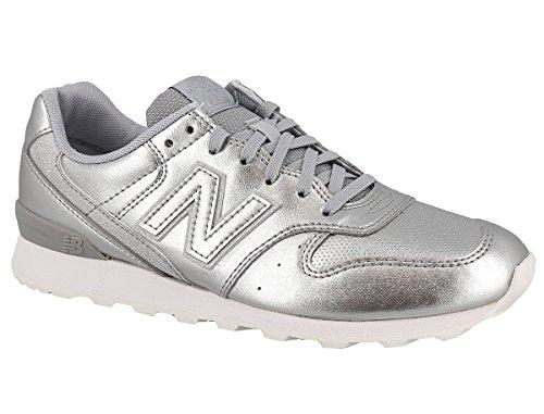 New balance sport scarpe per le donne, color argento, marca, modelo sport scarpe per le donne wr996 srs argento