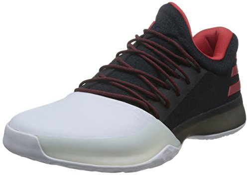 huge discount c3b76 96c91 adidas Men s Harden Vol. 1 BW0546 Trainers, Red White Black, Size