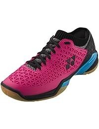 Yonex - Zapatillas de Squash y bádminton de Sintético para Hombre Rosa/Azul