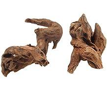 EmoursTM madera hundible, madera a la deriva decorativa para acuarios
