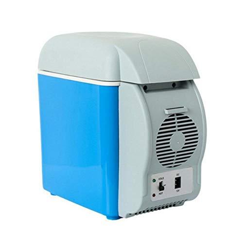 Ecoticfate Kühlbox Auto Und Steckdose Elektrisch 12v 7.5L Auto Kühlbox Auto Tragbare Heizung Und Kühlbox Inkubator 12V Auto Kleinen Kühlschrank Blau (Steckdose, Elektrische Heizung)