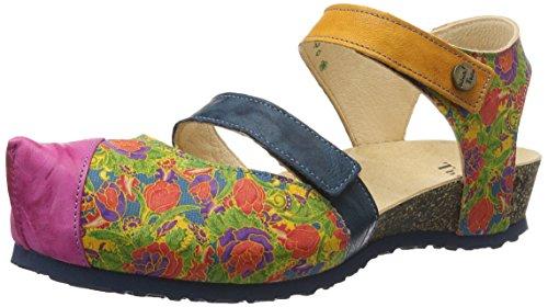 Sandales Think multicolore 99 99 multicolour Pensate Sandali Open Multicolore Kessy Donna Kessy Toe Ouvert Multicolore Bout Femme ErraZw