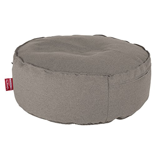 Lounge Pug®, Puff Taburete, 2 En 1, Nuevo Diseño, Lana de Interalli