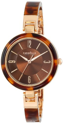Caravelle New York Women's 44L137 Analog Display Japanese Quartz Watch