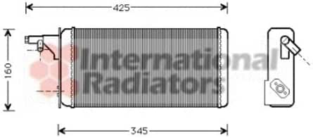 Innenraumheizung NRF 53236 W/ärmetauscher