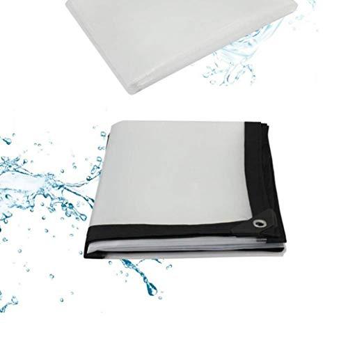 Size : 4x6M Outdoor Gear Nwn Thicken PVC Rainproof Cloth Waterproof Tarpaulin Heavy Duty Sheet Covers 500g/m²