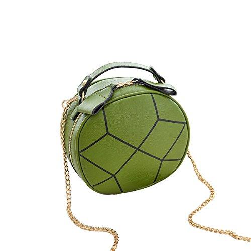 Versione Coreana Della Nuova Borsa Cross-cosmetica Diagonale Mini-spalla ArmyGreen