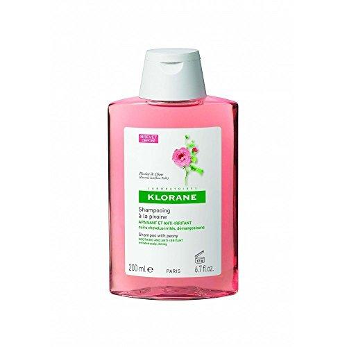 Klorane Soothing Shampoo With Peony - 200ml