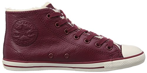 Converse As Dainty Shear, Baskets mode femme Rouge (Bordeaux)