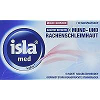 Isla med hydro+ milde Kirsche Halspastillen, 20 St. preisvergleich bei billige-tabletten.eu